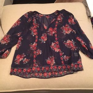 Tops - Patterned blouse